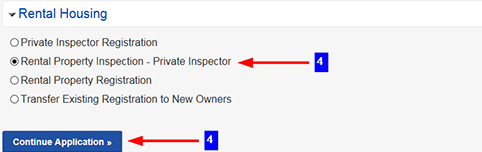 Submitting Rental Property Private Inspection Results – Help Center